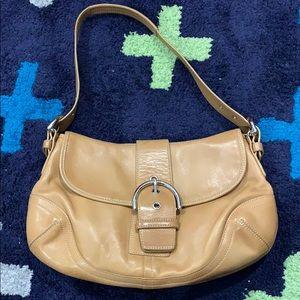 GUC Coach leather signature handbag